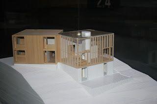 maqueta Casa Fisher - Louis Kahn 1960-1967