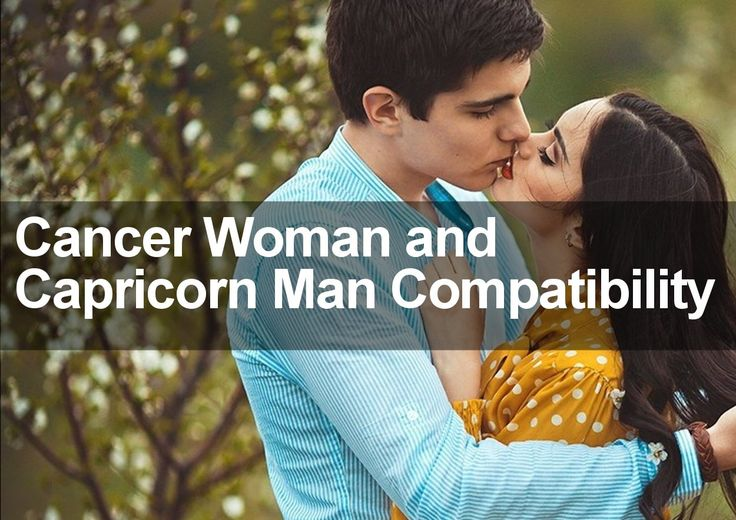Cancer Man and Capricorn Woman in Love