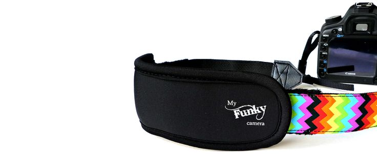 Funky camera straps for all your cameras crafted by hand in the U.S.A. with love since 2006