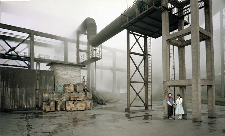 The Great Third Front-62, Chen Jiagang, 2008    Artificial Fog