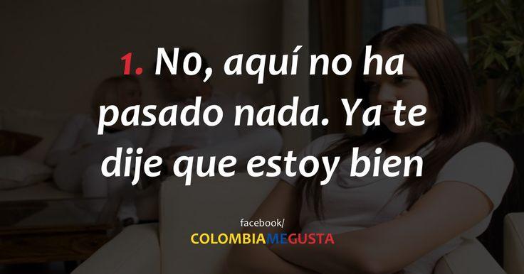 Si una colombiana dice estas 12 frases, quiere decir todo lo contrario
