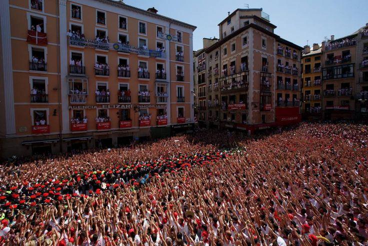 Pamplona ya ha dado inicio a los Sanfermines de 2016, nueve días de fiesta ininterrumpida por las calles de la capital navarra