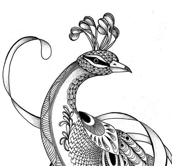 Pagine da colorare. Adulto da colorare del di TangledPeacock