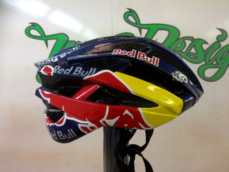 Red Bull Mtb Helmet Google Search Yol Bisikleti Road