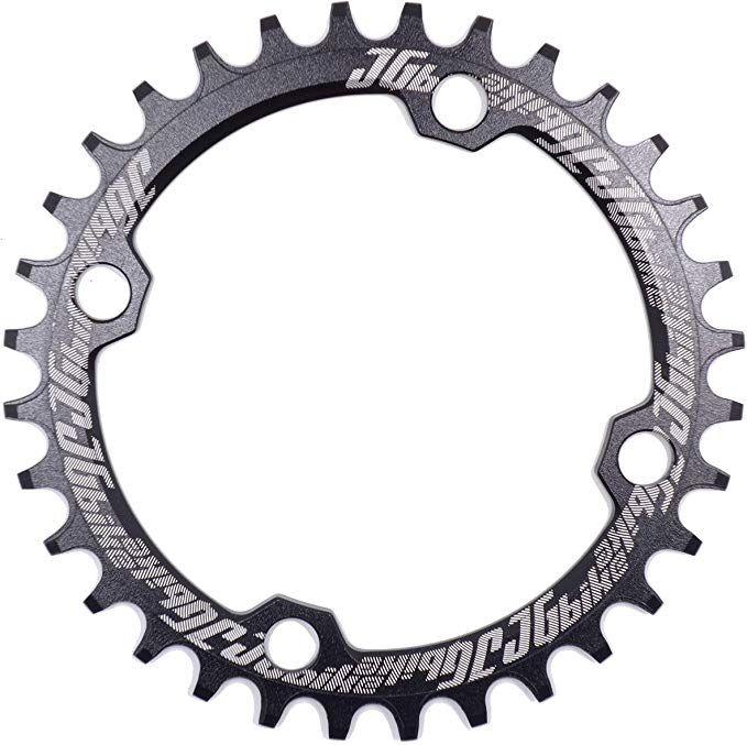 BCD 104mm MTB Road Bike Single Narrow Wide Chainring 32T 34T 36T Chain Ring