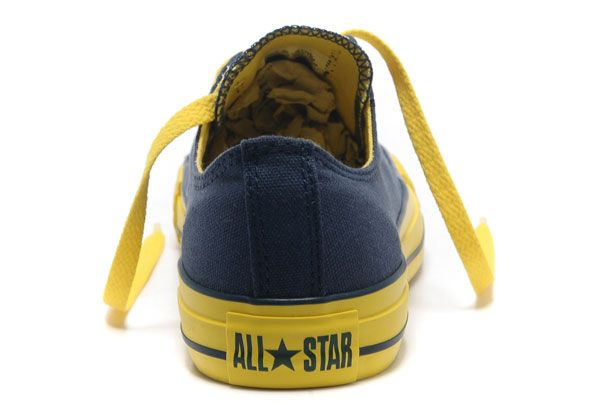 15f3fcb8b12b Newest Dazzle Blue Yellow Colour Converse All Star Light Low Tops Casual  Canvas Sneakers  converse  shoes