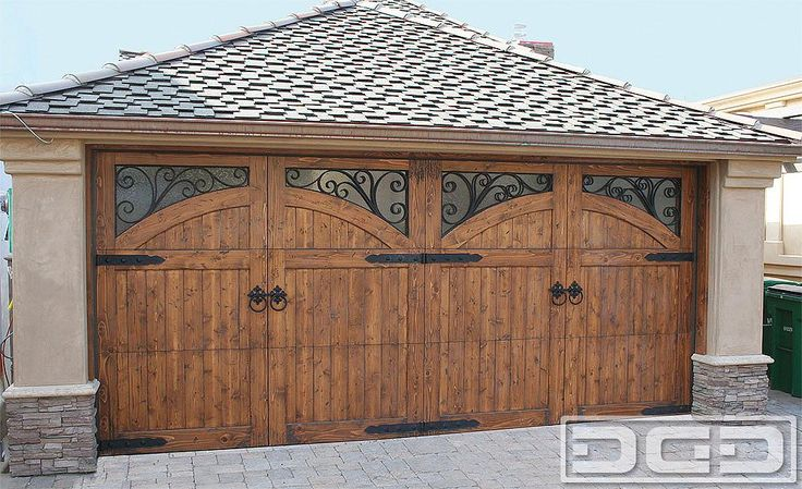 107 best images about garage doors on pinterest wood for Best wood for garage doors