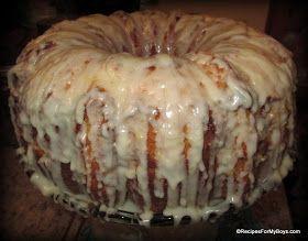 Lemon Sour Cream Pound Cake RecipesForMyBoys.com