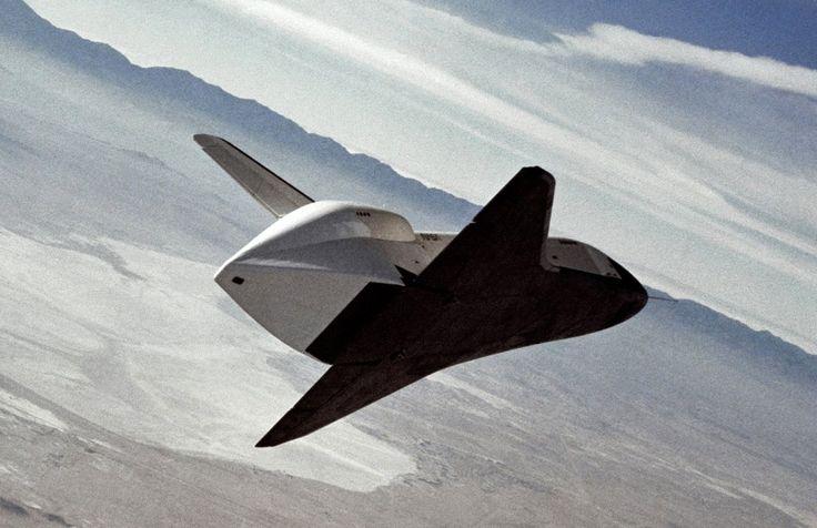 "NASA - Space Shuttle ""Enterprise"" (OV-101) During Glide Experiments"