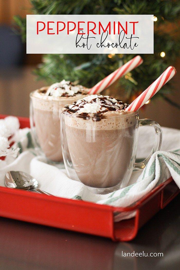 Amazing Peppermint Hot Chocolate