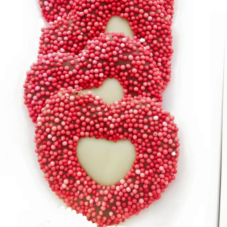 Heart chocolates! #chocolate