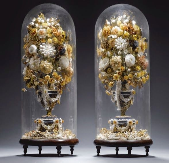 stunning example of shellwork from the reign of Charles III