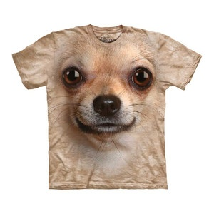 Chihuahua Face Tee Adult now featured on Fab.