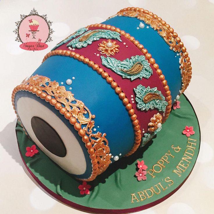 Mehndi Dholki Cake : Best images about gaye holud on pinterest henna