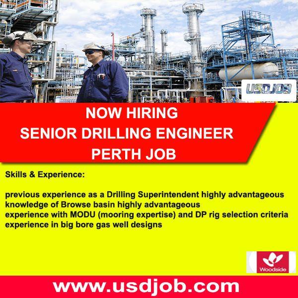 Senior Drilling Engineer Jobs In Australia Engineering Drill Wellness Design