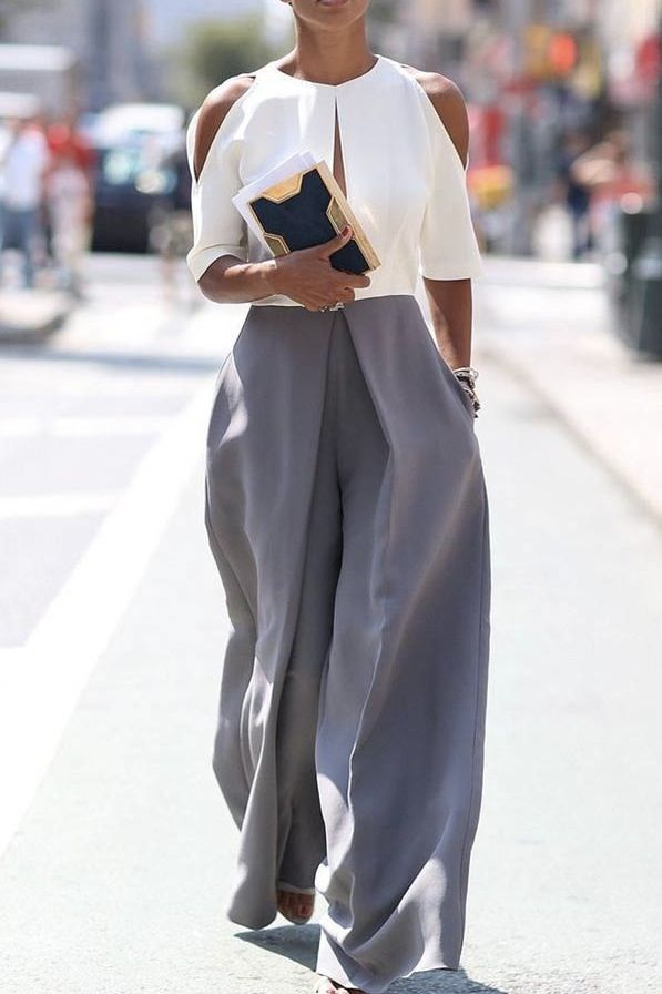 Shoulder cut out blouse 8 Fashion Trends That Will Dominate 2016 via @PureWow