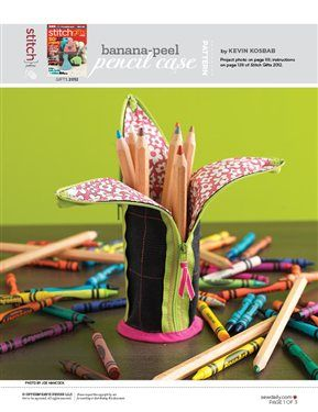 This file contains pattern pieces only.Project instructions are in Stitch magazine's Gifts 2012 issue. ***SORRY, THIS AWESOME CONTENT IS FOR SITE MEMBERS ONLY! But, it's never too late to join us! Come on in and we'll show you how.*** Username Password Remember Me Register and Join the Fun! Lost Password Other sewing topics you may…
