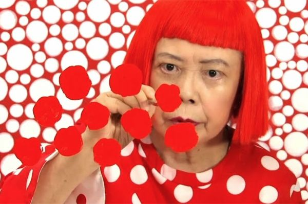 The Japanese artist Yayoi Kusama has been crowned as the most popular artist in the world according to a survey of museum attendance in 2014. Yayoi Kusama Photo via: Jamille Sodré