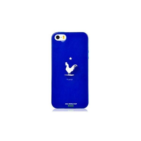 Super coque bleue iphone à l'effigie !
