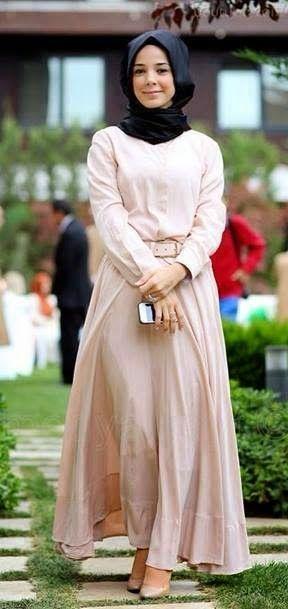 hanan turk fashion styles?   ... Fashion 2015 : Photos Exclusives   Hijab Chic turque style and Fashion