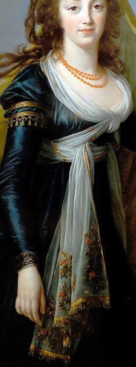 """Louise Élisabeth Vigée Le Brun - """"Theresa, Countess Kinsky"""", 1793"""