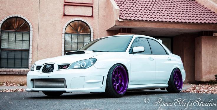 Beautifully clean Subaru STi