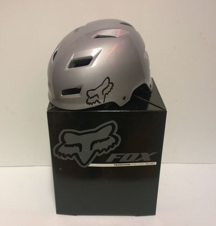 Casco MTB mountain bike FOX Transition Helmet  Silver M medium