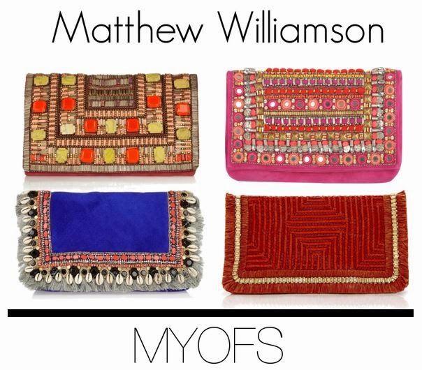 MYOFS: Tribal clutch: Where to get #matthewwilliamson #tribalclutch #aztecclutch
