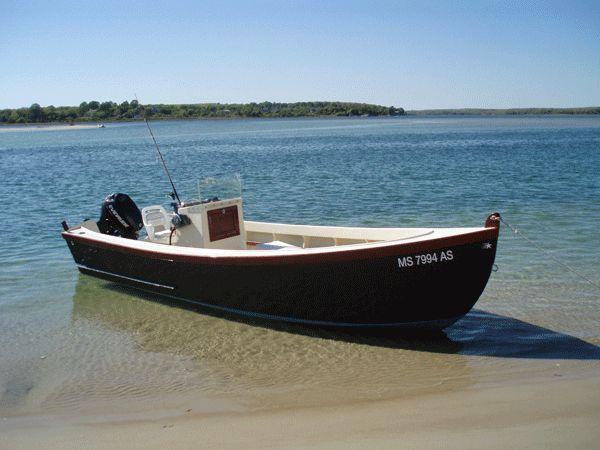 * Mummichog & Chog - Plywood Skiffs - by Jerry Mathieu * | power skiff | Aluminum boat, Wooden ...
