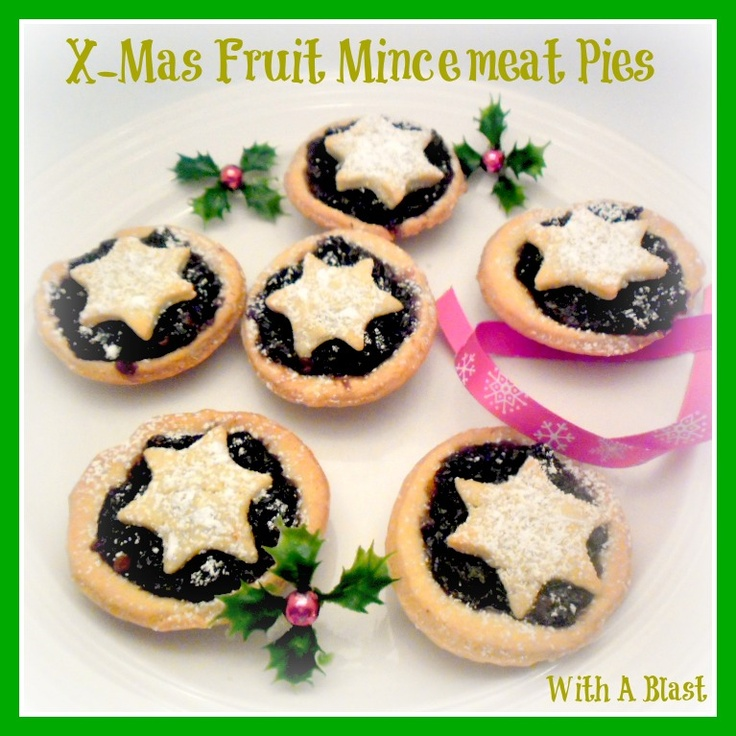 With A Blast-: X-MAS Fruit Mincemeat Pies ... traditional South-African Christmas cookies