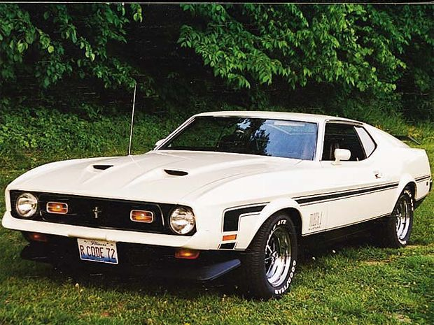 173 0403 4z 1972 Ford Mustang Mach 1 Front Driver Side