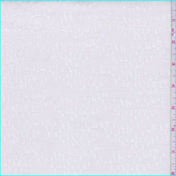 Dark Ivory Stretch Velveteen Jacquard Fabric By The Yard Etsy Pure White Background White Background Hd Fabric