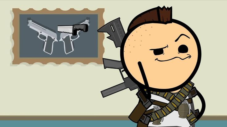 Guns - Cyanide & Happiness Shorts - YouTube
