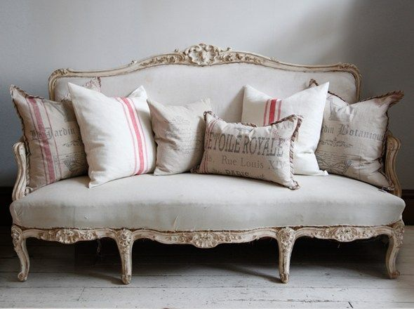 Swedish Sofa With Cushions For The Home Pinterest Upholstery Living Rooms And Shabby
