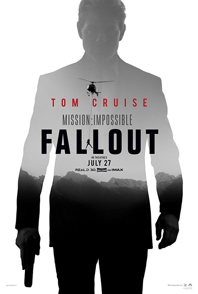 Mission Impossible Fallout Poster Teaser And A Trailer Coming Sunday Mission Impossible Fallout Fallout Movie Mission Impossible
