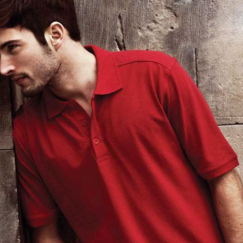 Where to buy superb quality polo shirts for men, contoured fit. 100% cotton pique knit. Buy James Harvest bulk wholesale, no minimum, online Australia polo shirts suppliers.