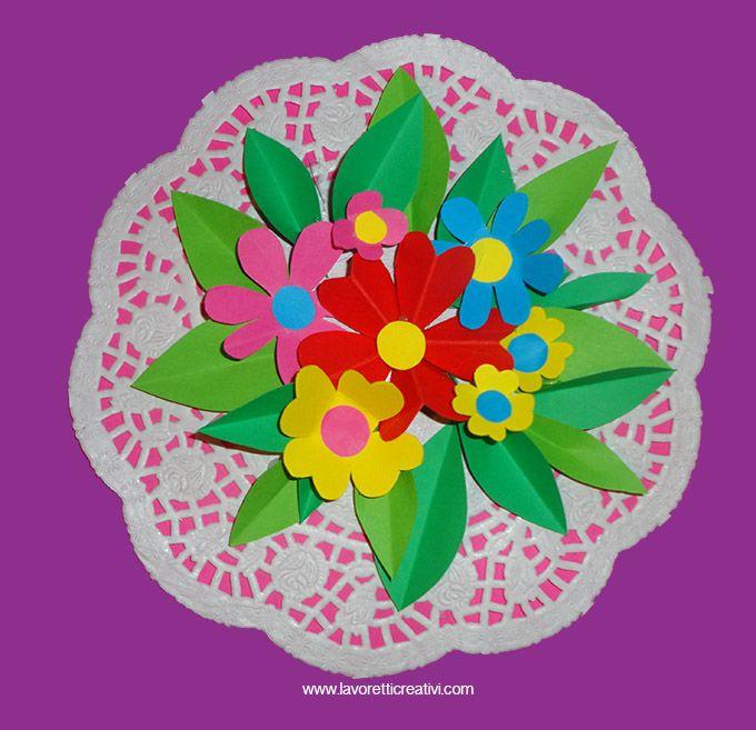 Chi non ama i fiori? Un bel mazzo di fiorellini colorati rallegra ogni ambiente ma soprattutto il cuore di chi lo riceve. Con dei semplici cartoncini color