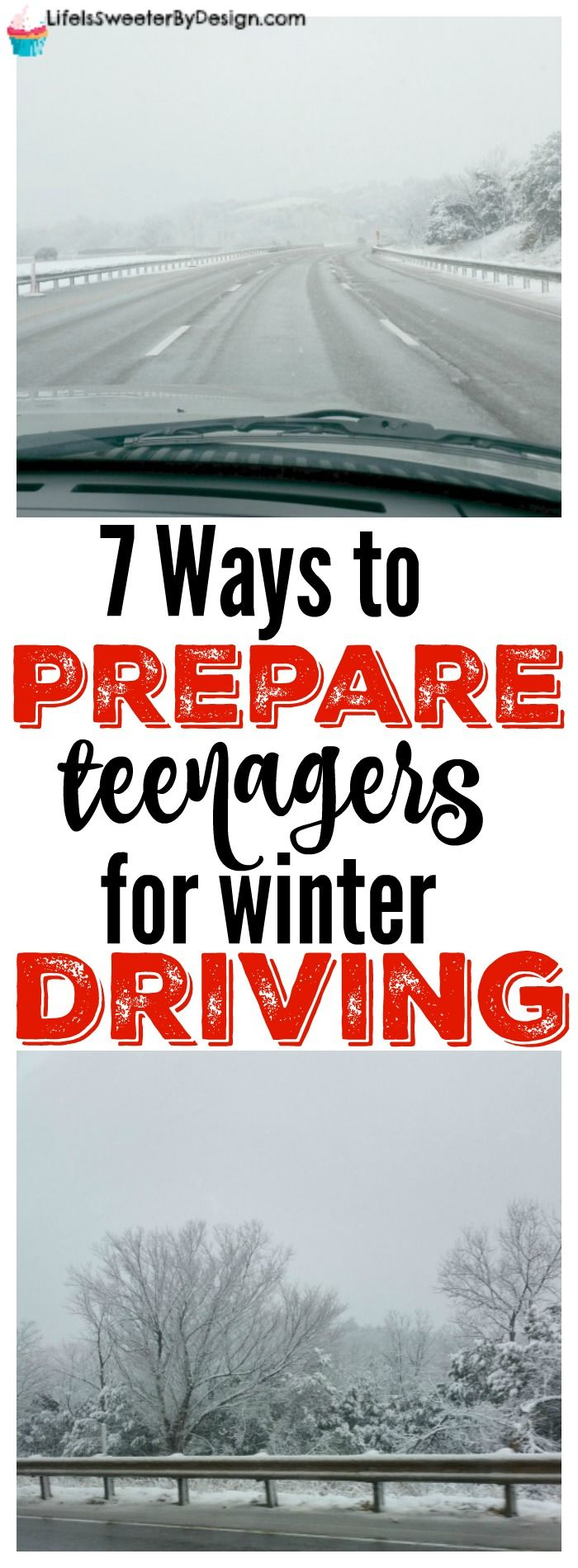 These 7 ways to prepare your teen for winter weather driving are super important. Teaching our teens how to drive in bad weather is vital to their safety! #WeatherProven #ad @Samsclub @goodyear