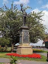 Lancashire Fusiliers War Memorial.