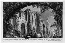The Roman antiquities, t. 1, Plate XX. Portico of Marcus Aemilius Lepidus and P. Aemilius Paulus. - Giovanni Battista Piranesi