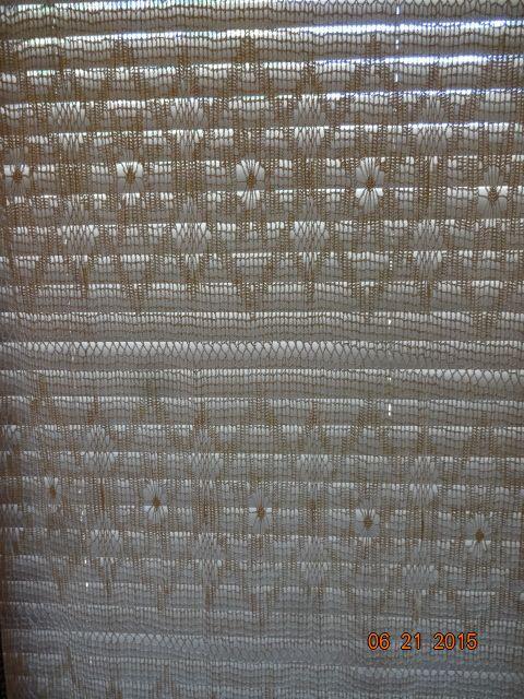 Crocheted Curtain #3
