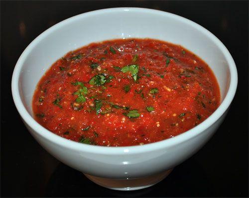 Georgian red pepper sauce