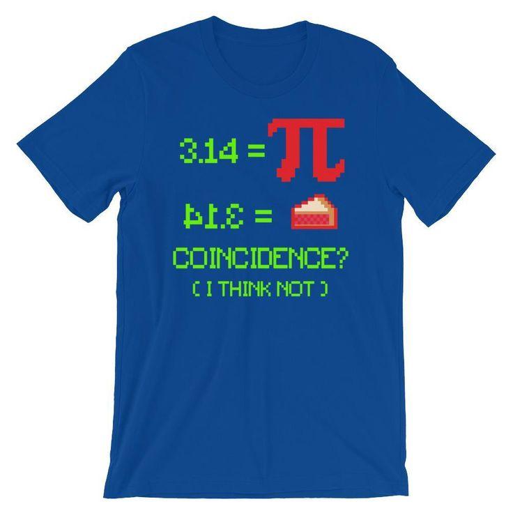 Funny Pi Day Shirt - 3.14 Equals 41.3 Pie