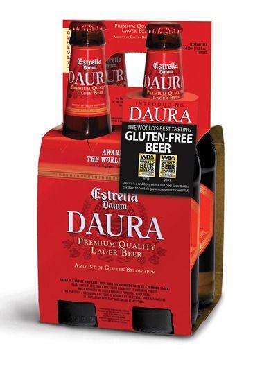 Estrella Damm Daura – Gluten Free Lager Daura is one of, it not the, first gluten free beer to deglutenize. #glutenfreebeer.org     Daura is one of, it not the, first gluten free beer to deglutenize.