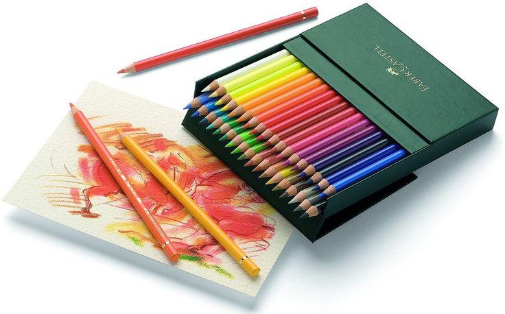 Faber-Castell 110038 - Farbstift POLYCHROMOS, 36er Atelierbox: Amazon.de: Spielzeug
