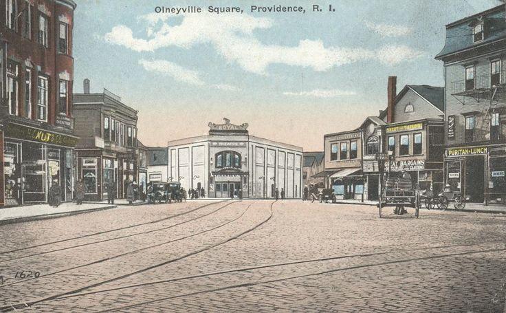 Olneyville Square, Providence, RI   Rhode Island Long Ago ...