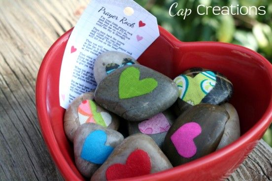 Prayer Rocks. Bring in (or have girls find) smooth, clean rocks. Use mod podge and glitter, paints, vinyl word cutouts, and fabric for girls to decorate  rocks in different ways to remind them of the importance of prayer and other standards. Activity Day Girls.