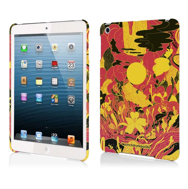 Earthly Pursuits iPad Mini Case (design by Punchdrunk Panda) #punchdrunkpanda #ipad #graphicdesign #design