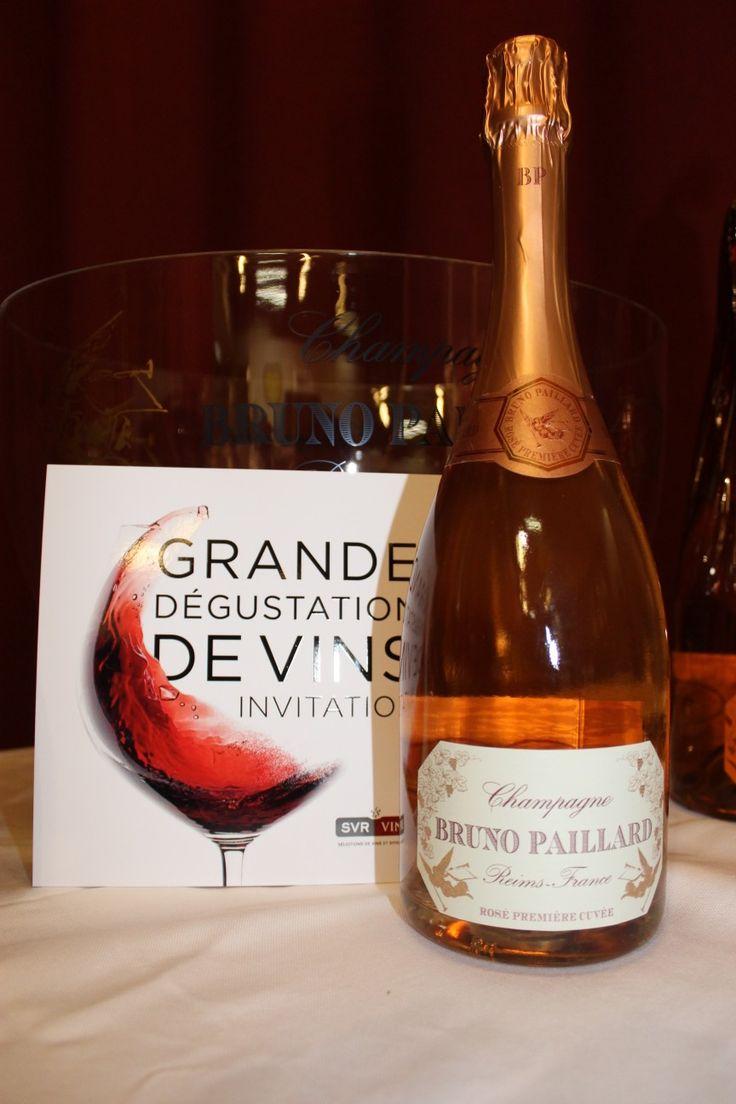 Rosé Premier cuvée  #Champagne #Brunopaillard #france #rosé