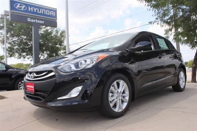 """2013 Hyundai Elantra GT Hatchback in Black Noir Pearl.  The new Elantra GT replaces the Elantra Touring.  Some call the GT, the """"Elantra with a Twist"""".  The Elantra GT offers amazing space, innovative thinking and advanced features that boost performance, handling and safety.  Available now at Napleton's Valley Hyundai in Aurora."""